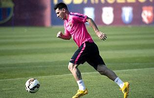 Messi volvió a entrenar, pero continúa la polémica con Luis Enrique - InfoRegión