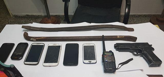 tres detenidos acusados de cometer entraderas en guill n. Black Bedroom Furniture Sets. Home Design Ideas