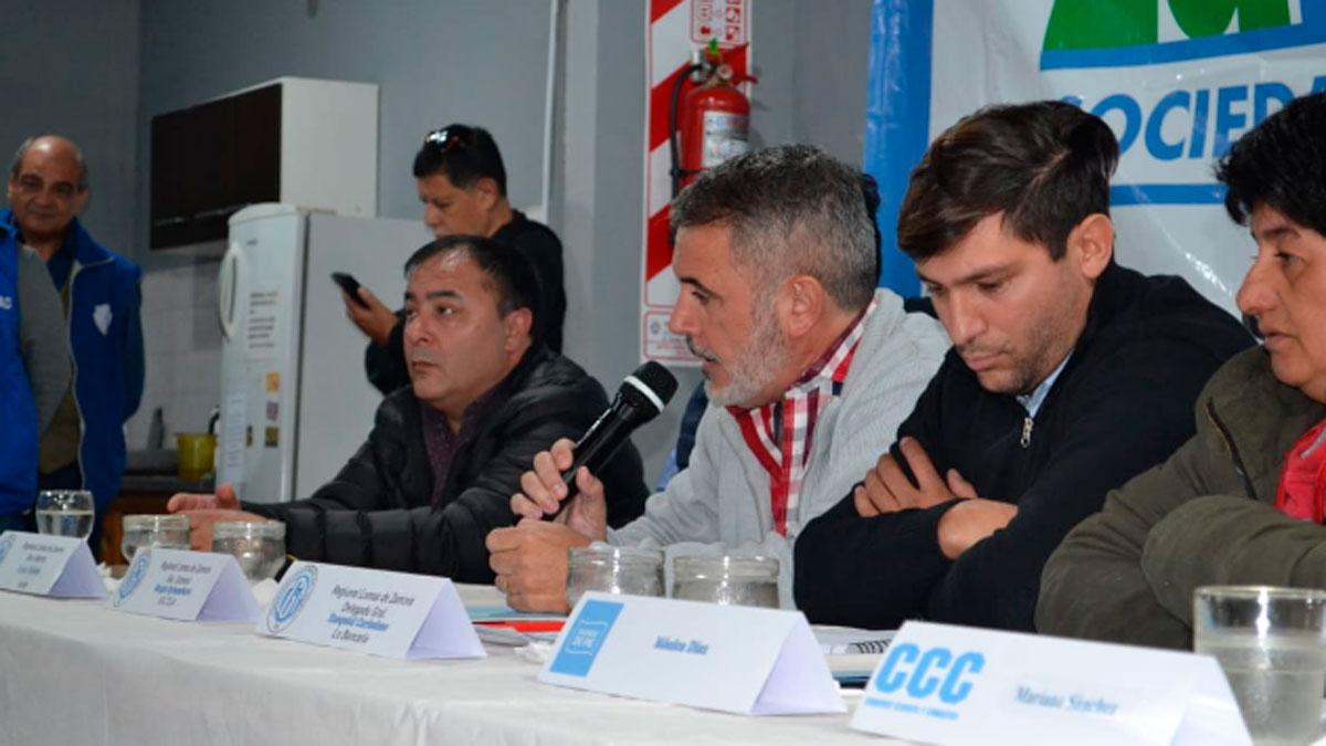 El secretario general de la CGT regional Lomas de Zamora