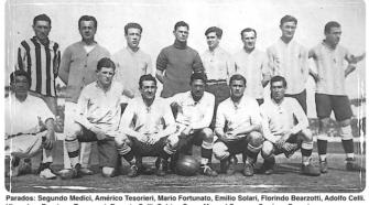 Alineación argentina en 1924