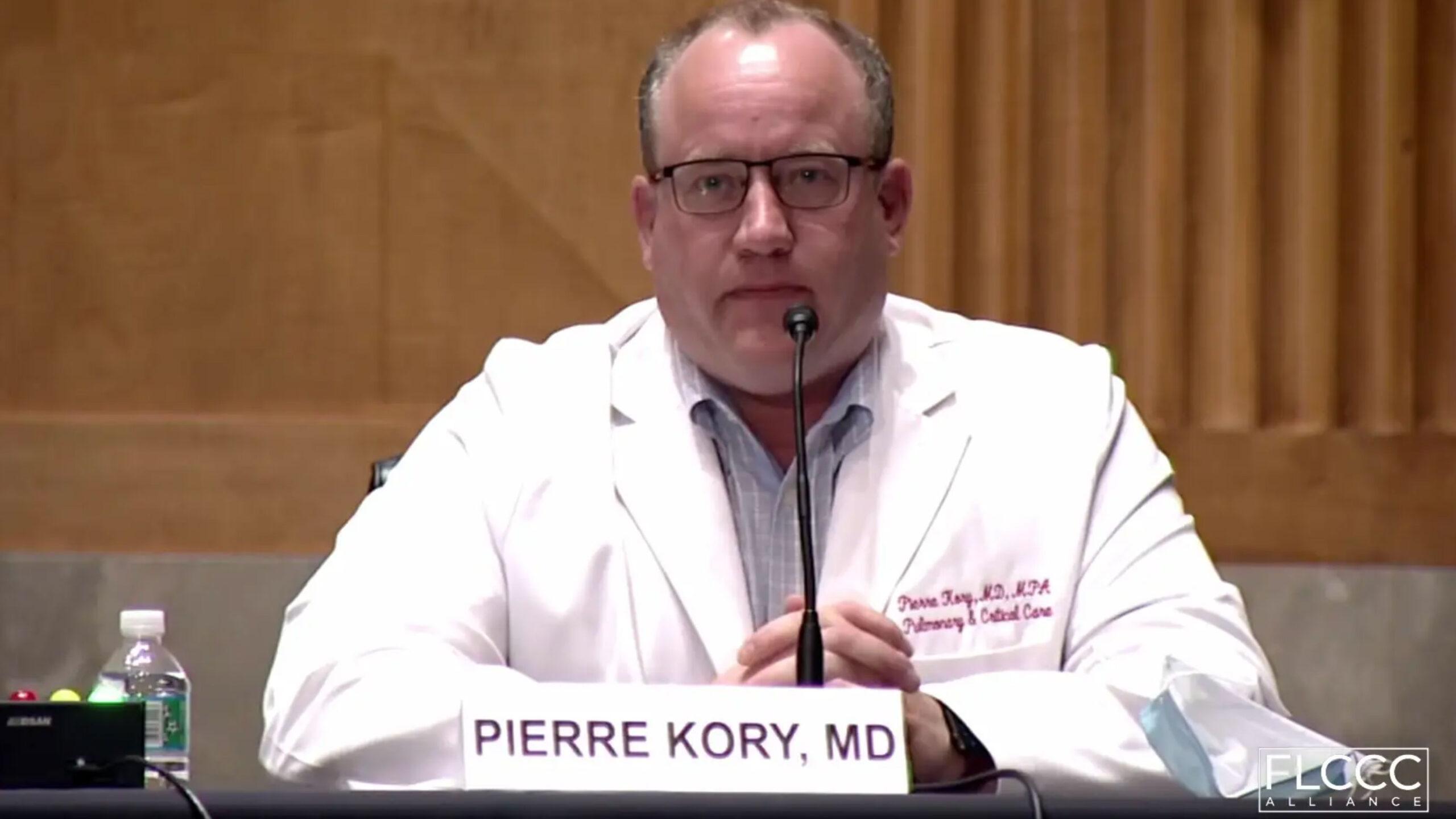 Pierre Kory expone sobre ivermectina y Covid-19